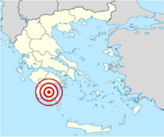 Sparta Earthquake 464 BC