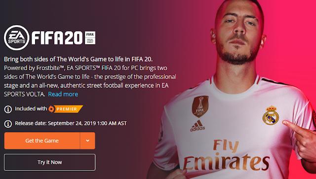 FIFA 20 التجريبي متاح على أجهزة Xbox One و PS4 والكمبيوتر الشخصي