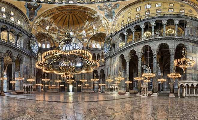 Ayasofya Müzesi Tarihi ve Ayasofya Camii