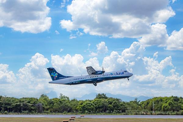 Azul retoma voos para Macaé - Crescimento de serviços no setor de petróleo