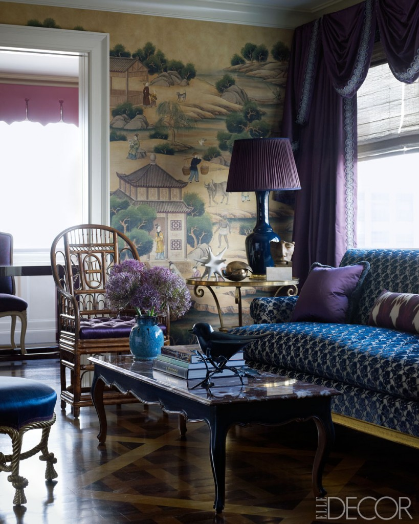 Blue and Gold Rooms and Decor (50 Favorites for Friday ...