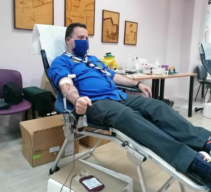 Εθελοντική αιμοδοσία από τους Προσκόπους του 5ου Συστήματος Βέροιας