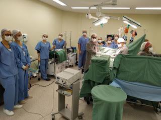 """Hospital Regional de Registro realiza primeira cirurgia  cardíaca """"sem sangue"""" no Vale do Ribeira"""