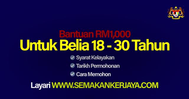 Bantuan Belia RM1000