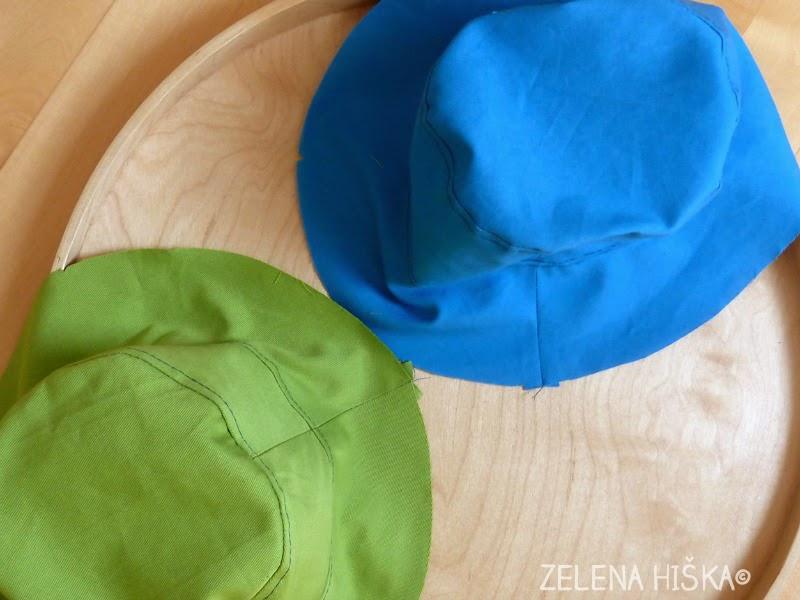 kroj in navodila za otroški klobuk