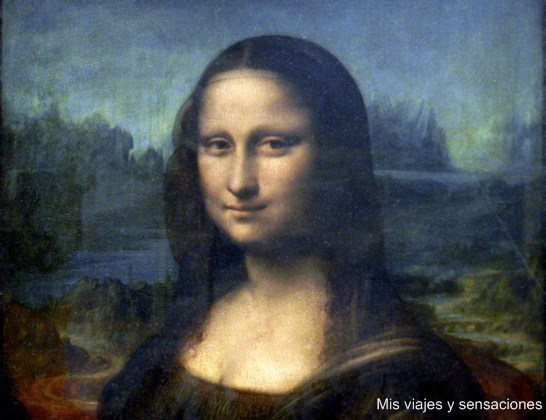 La Gioconda, Mona Lisa, museo del Louvre, París, Francia