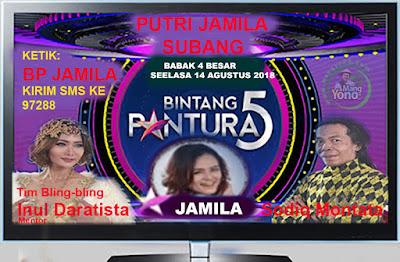 PUTRI JAMILA Subang Bintang Pantura 5 Indosiar   babak 4 Besar