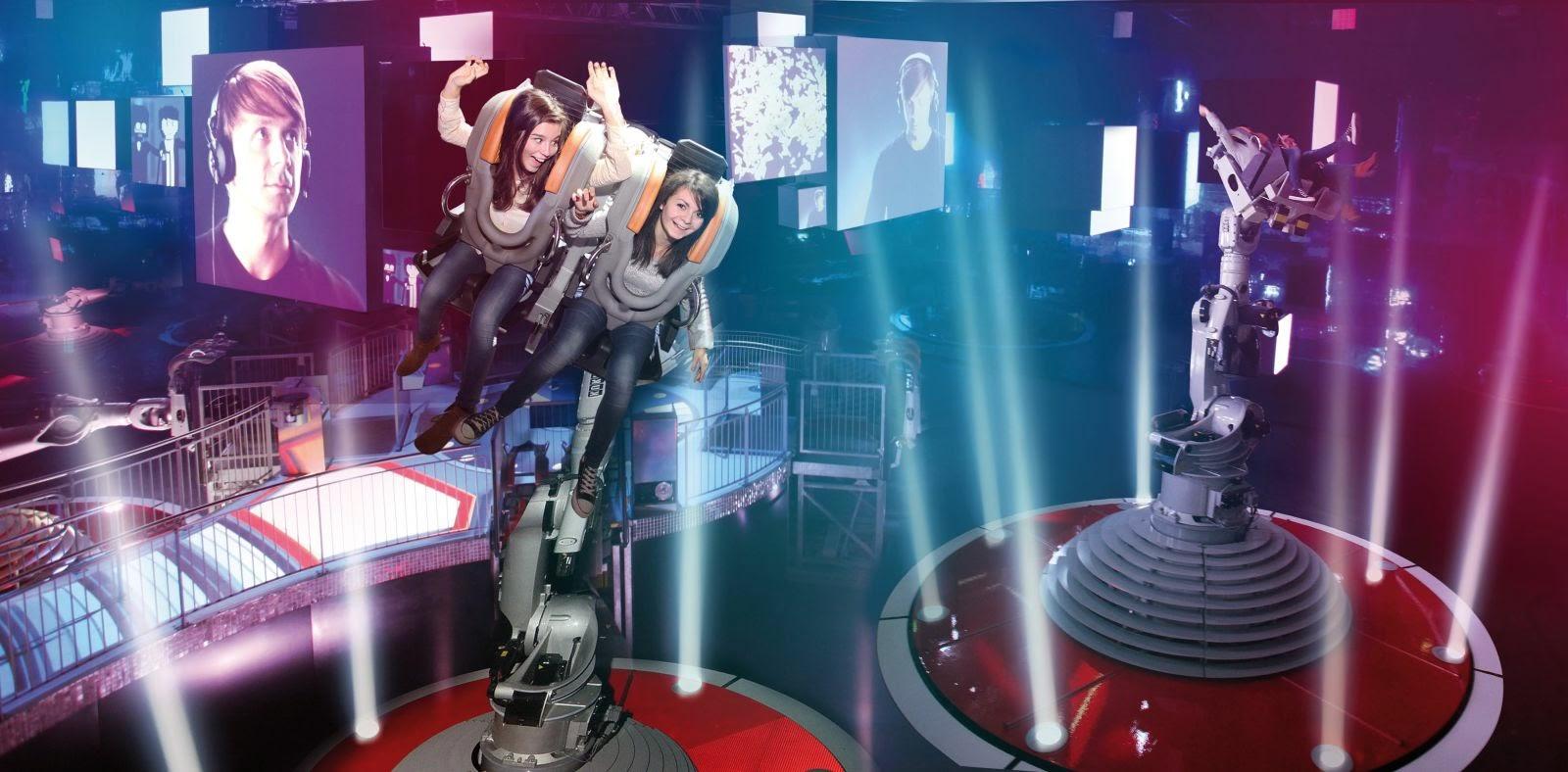 Futuroscope. Baila con Robots.