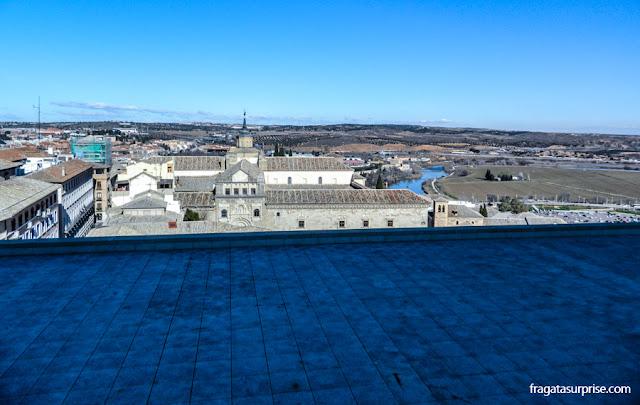 Toledo vista de um baluarte do Alcázar