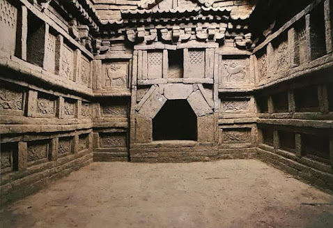 700-year-old tomb discovered in northwest China