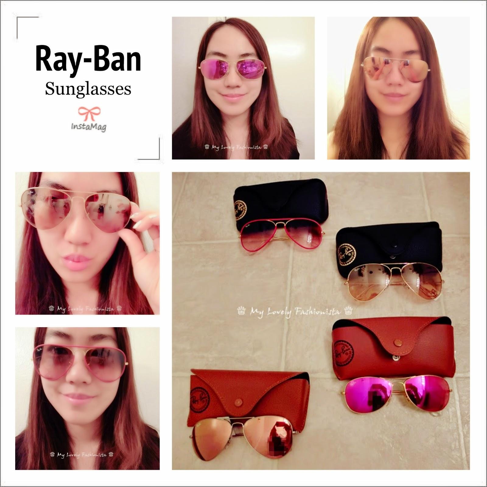 Ray Ban Large Original Aviator 62mm Sunglasses Pink