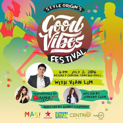 Ayala Centrio Mall's Style Origin 2016 - Good Vibes Festival