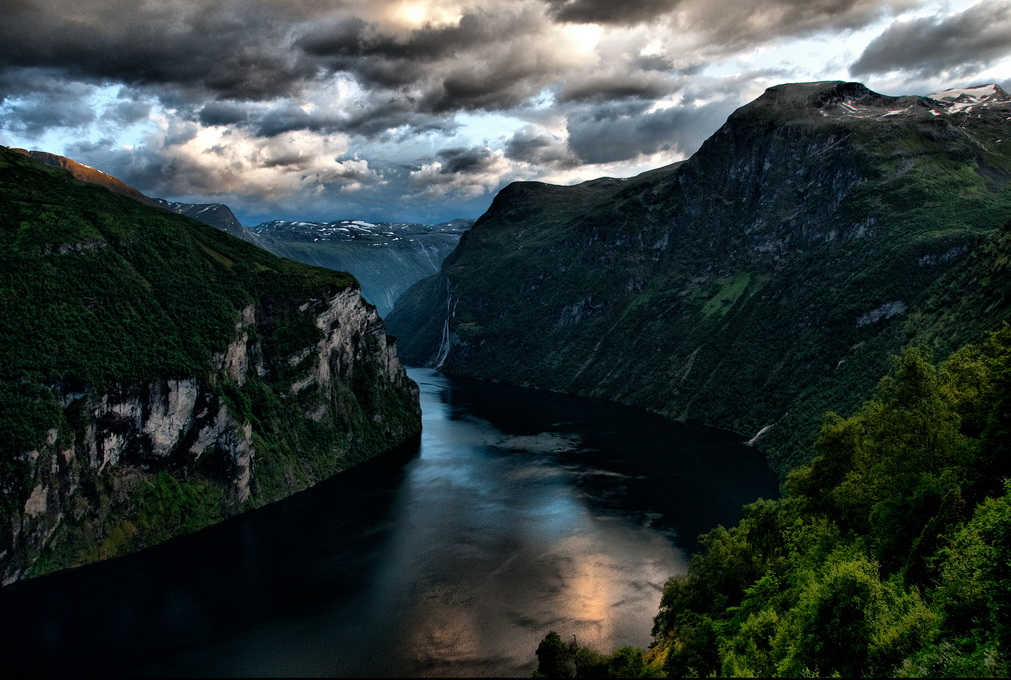 single fjord