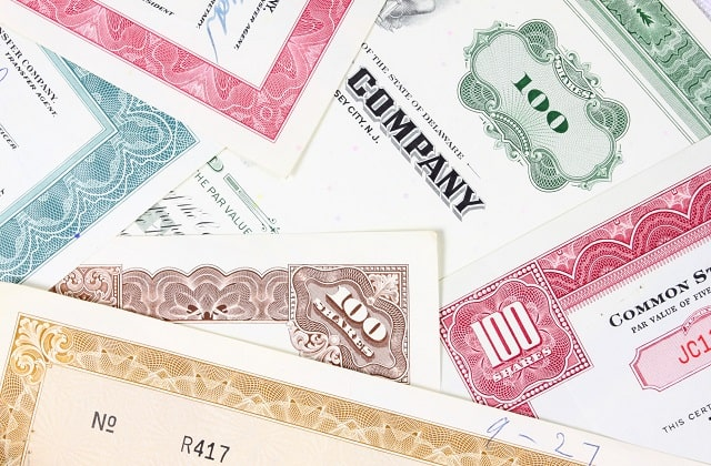 what's a stock certificate printed stocks