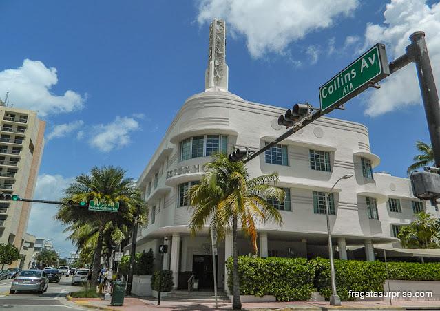 Arquitetura art-déco em Miami Beach, Estados Unidos