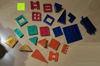Erfahrungsbericht: Playbees 100 Teile Magnetische Bausteine Set für 2D und 3D Form Konstruktionen, Regenbogenfarben Magnetspielzeug, Baukasten Magnetspiel, Magnetbausteine