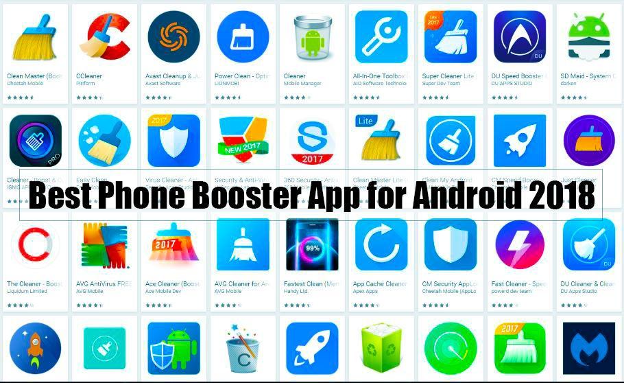 Best Phone Booster App for Android 2018 - TECHON