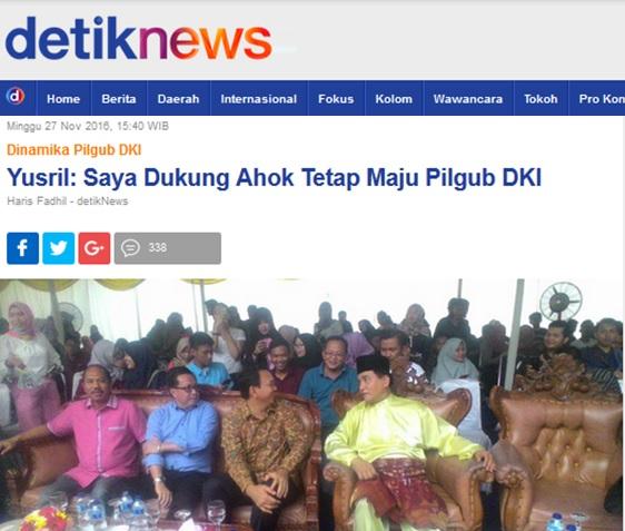 Detiknews berita Yusril