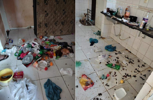 Criança vítima de maus tratos é resgatada da sua própria casa comendo fezes de cão no Espírito Santo