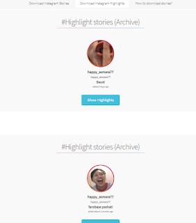 Cara Download Highlight Instagram Orang Lain Tanpa Aplikasi Tambahan