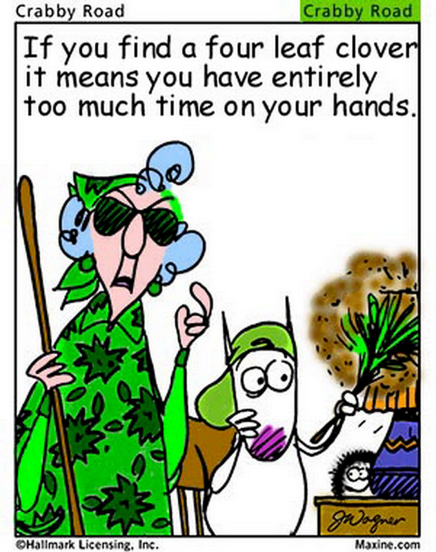 Chuck's Fun Page 2: St. Patrick's Day humor