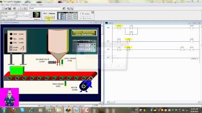 برنامج لعمل الدوائر المنطقية وتمثيلها LogixPro PLC Simulator