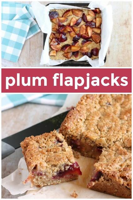 plum flapjacks #flapjacks