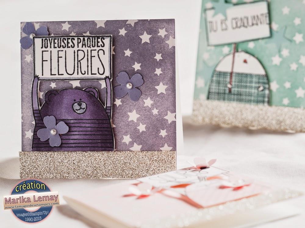 Cheerful critters et papier magique 2