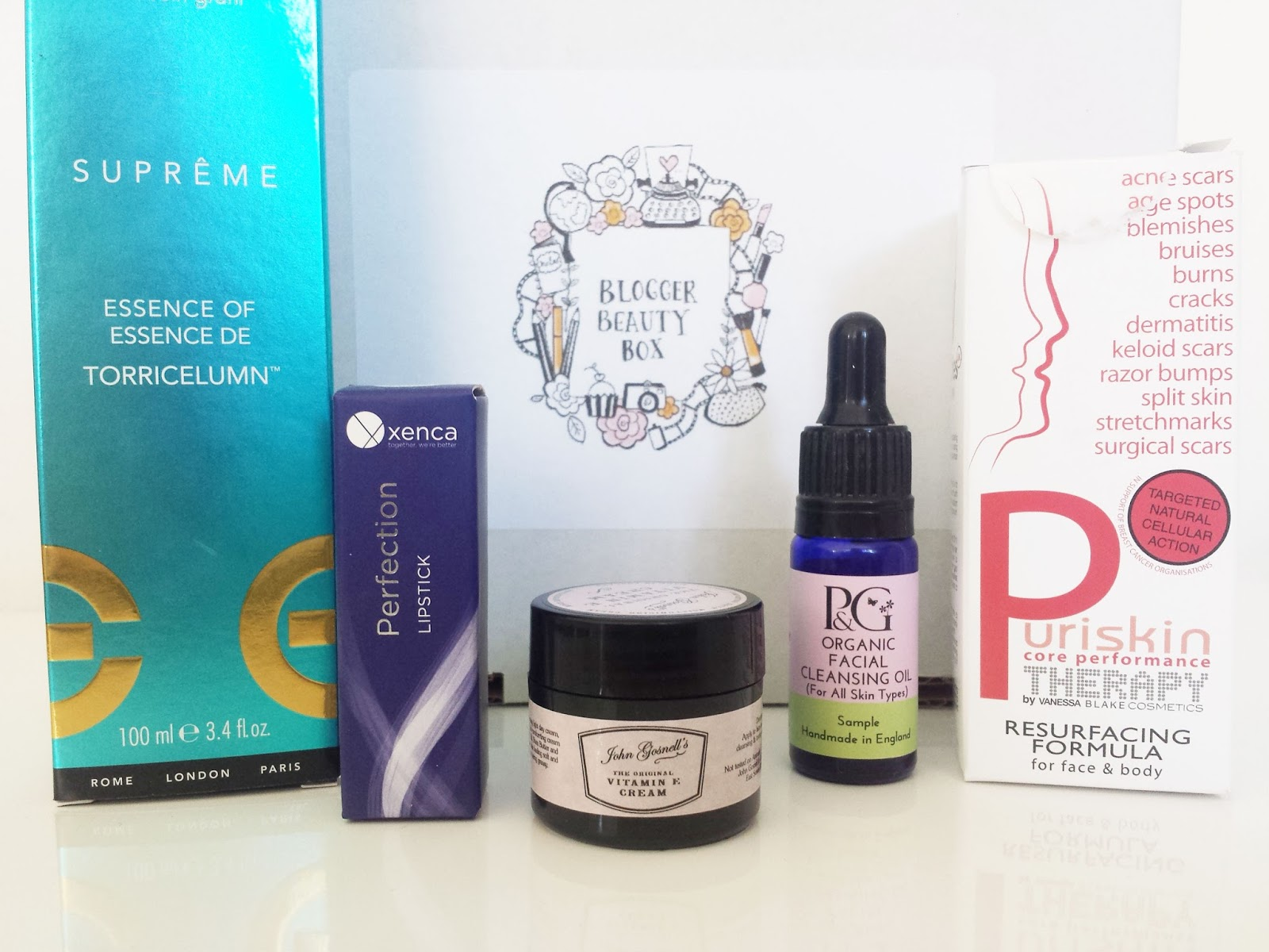 Blogger Beauty Box October Products