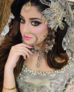Bridal Photoshoot of Alizeh Shah for Kashees
