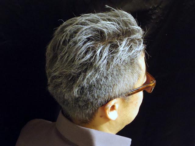 白髪の染める