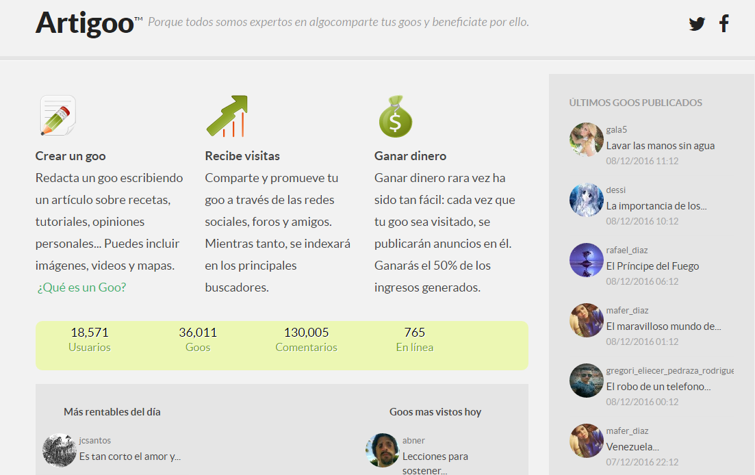 12 webs en español donde podrás ganar dinero escribiendo - El Blog ...