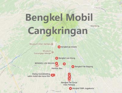Bengkel Variasi Mobil Cangkringan, Sleman