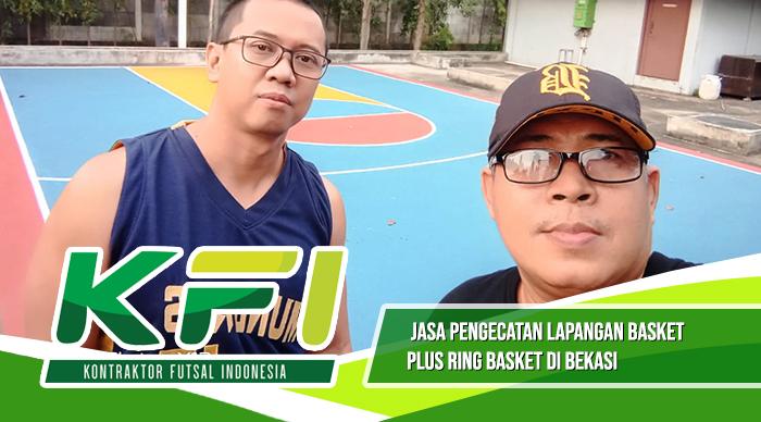 Jasa Pengecatan Lapangan Basket Di Bekasi