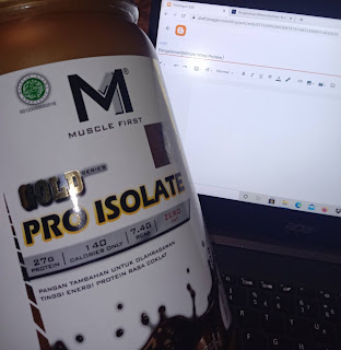 Kemasan Whey Protein Muscle First pro Isolate