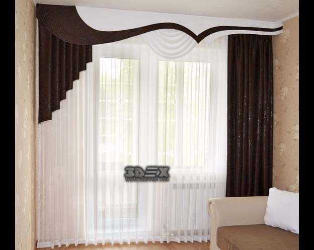 Best curtain designs for bedrooms curtains ideas and - Latest curtain design for living room ...