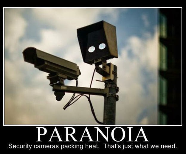 potere e paranoia