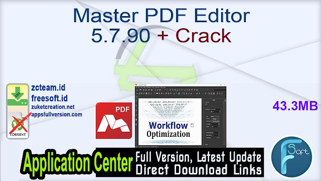 Master PDF Editor 5.7.90 + Crack_ ZcTeam.id