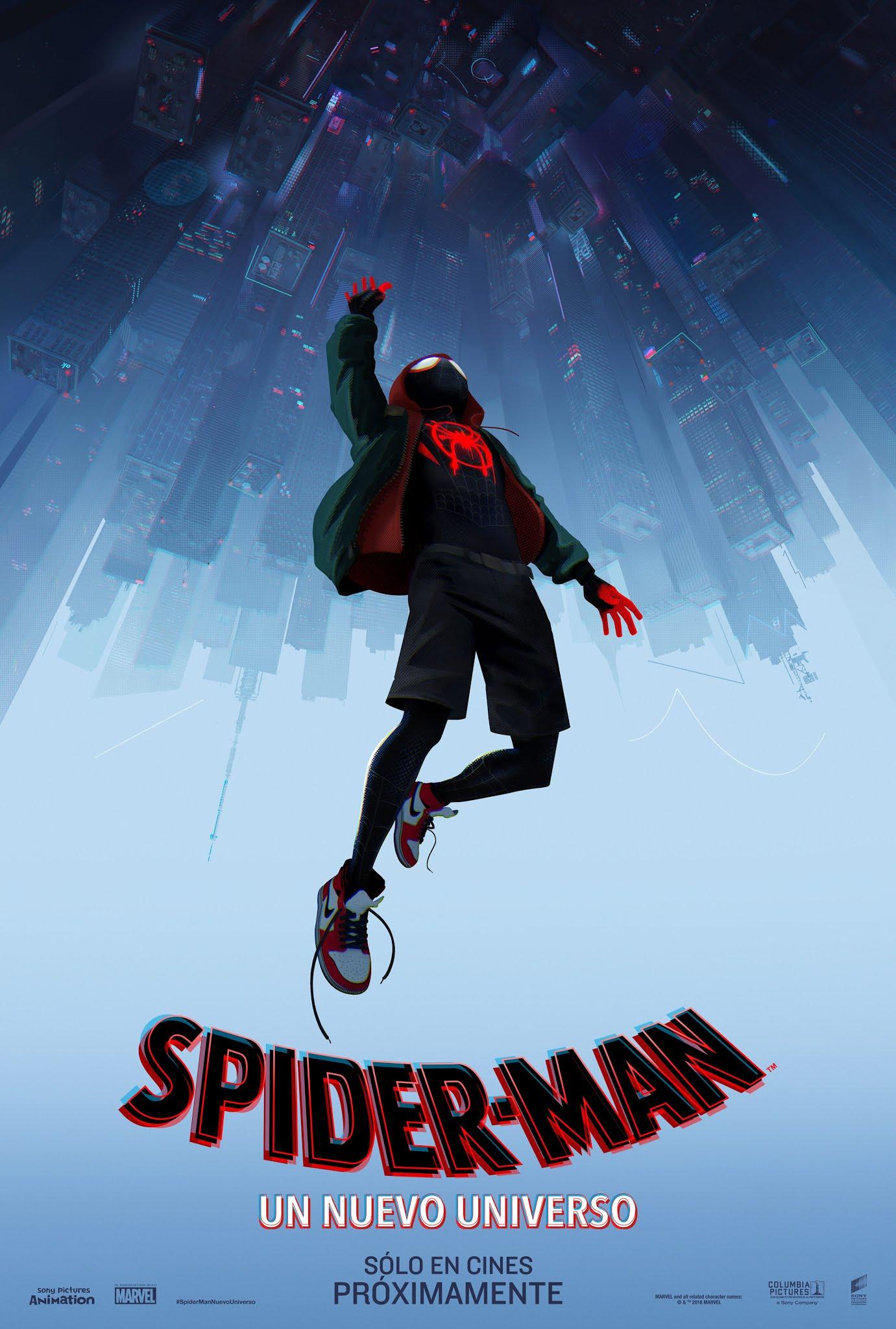 Teaser Poster De Spider Man Un Nuevo Universo Jposters
