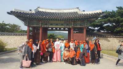 Paket Tour Halal Autumn Korea