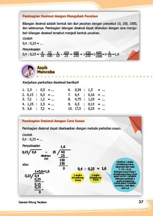 Kunci Jawaban Buku Senang Belajar Matematika Kelas 5 Kurikulum 2013 Revisi 2018 Halaman 37 38 Kunci Soal Matematika