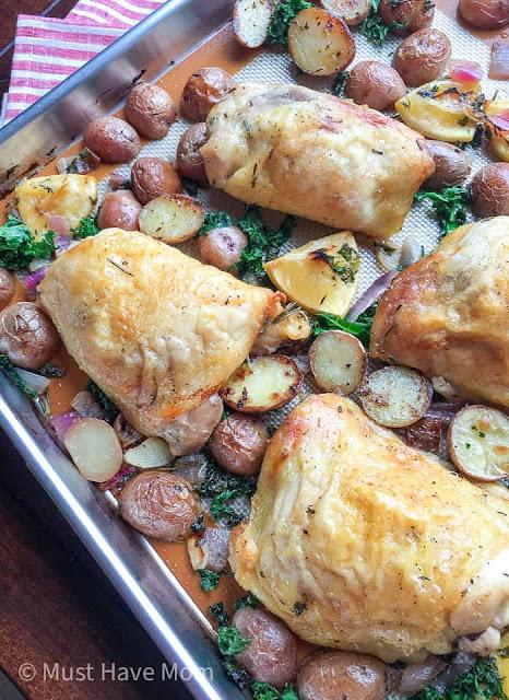 Chicken Sheet Pan Dinner Recipe