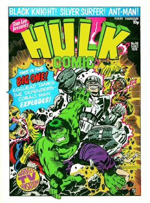 Hulk Comic #40, the Cobalt Man