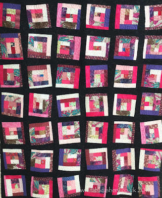 'Mile a Minute' scrap Quilt by Naina