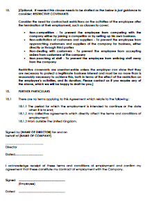 image about Free Printable Employment Contracts named absolutely free printable work contracts