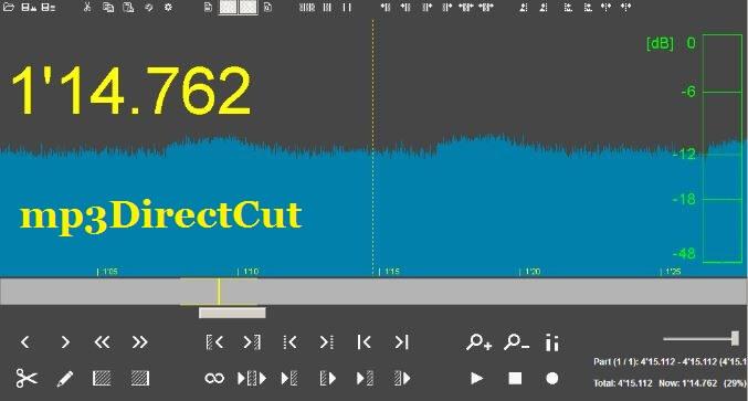 برنامج, تقطيع, الملفات, الصوتية, وصناعة, النغمات, mp3DirectCut