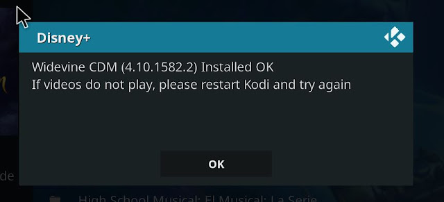 Error Widevine KODI