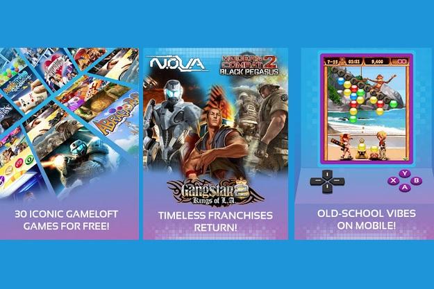 Gameloft Classics - Μία συλλογή 30 κλασσικών παιχνιδιών για κινητά τηλέφωνα