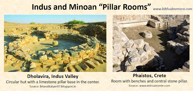 Pillar Rooms in the Indus Valley and Minoan Crete