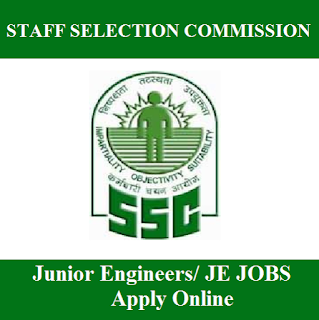 Staff Selection Commission, SSC, Graduation, Junior Engineer, JE, freejobalert, Sarkari Naukri, Latest Jobs, Hot Jobs, ssc logo